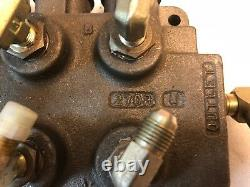 3 Spool, 6 Way Hydraulic Control Valve, Manifold, P/n 120553