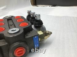 3 Spool ZT-L20-3 Hydraulic Directional Control Valve 25GPM Double Acting 3000PSI