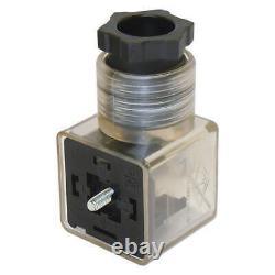 4 spool hydraulic solenoid directional control valve 13gpm 24VDC, monoblock