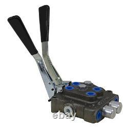6 GPM 2 spool Metro Hydraulic Directional Control Valve D2DT2T2QJ 9-12812