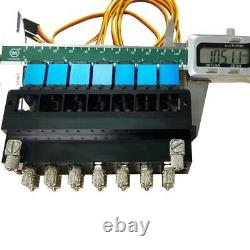 7CH Directional Valve Hydraulic Oil Valve Controller With Servo for 1/12 RC Exca