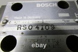 Bosch 0831006003 Hydraulic Proportional Directional Control Valve With 0811404038