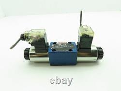 Bosch Rexroth 4WE 6 J5-62/EG249K4 Hydraulic Directional Solenoid Spool Valve 24V