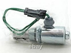 CAT Caterpillar 279-6528 Solenoid Valve 24V 2-Way 2-Position Hydraulic N/C 2 Pin
