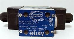 Continental Hydraulics VS12M-3A-GB-68L-H Directional Valve 120/110 VAC 22Watt