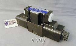 D03 hydraulic directional control solenoid valve closed center 12VDC