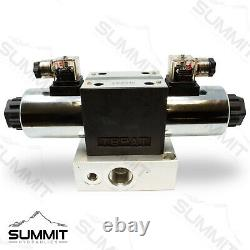 Electronic Hydraulic Double Acting Directional Control Valve, 1 Spool, 25 GPM