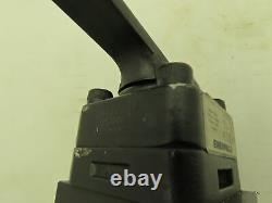 Enerpac 3CRBX Hydraulic Manual Lever Directional Control Valve 3-Way 3-Pos SAE-8