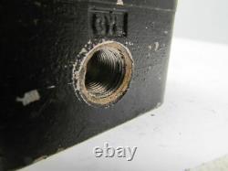 Enerpac 4CRBO C3199C 4-way 3-position manual hydraulic valve