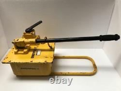Enerpac P-464 Hydraulic Hand Pump 4 Way Valve 700 Bar/ 10,000 Psi Free Shipping