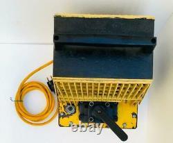 Enerpac Pem 2021e Electric Hydraulic Pump 700 Bar/ 10,000 Psi 4 Way Valve