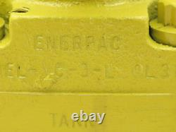 Enerpac VC-3L 3-Way Hydraulic Manual Directional Control Valve 4 GPM 3/8 NPT