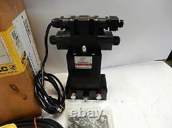 Enerpac Ve43-115 4-way Electric Hydraulic Valve With Pendant Directional Control