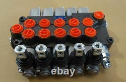Five Spool Hydraulic Direction Control Valve P560