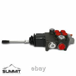Hydraulic Directional Control Valve for Tractor Loader with Joystick, 2 Spool, 21