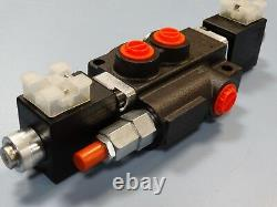 Hydraulic solenoid directional control valve 13gpm 12VDC, Z50 A ES3 12VDC