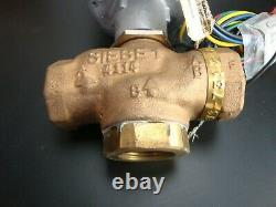 INVENSYS VS-7313-201-4-08 Hydraulic ACTUATOR & 1 3 Way Mixing VALVE -(NEW)