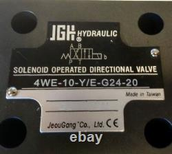 JGH Hydraulic Solenoid Operated Directional Valve