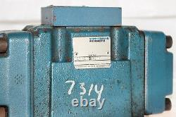 Mannesmann Rexroth 4wh10c40/ Directional Hydraulic Control Valve Used! (g10)