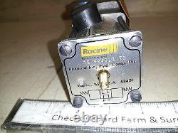 NOS Bosch Racine Hydraulic Linear Directional Control Valve 4-Way 994523 994535