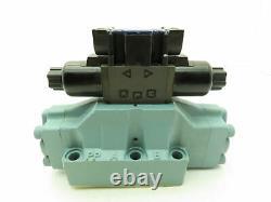Nachi DSS-G06-C6-R-D2-E12 Hydraulic Directional Control Solenoid Valve 24VDC D08