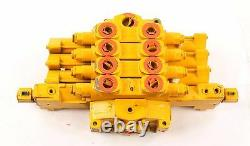 New AT124865 John Deere Hydraulic Four Bank Directional Valve