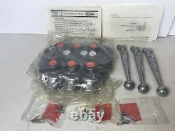 New Cross SBA222 Hydraulic Control Valve 3 Position, 4 Way
