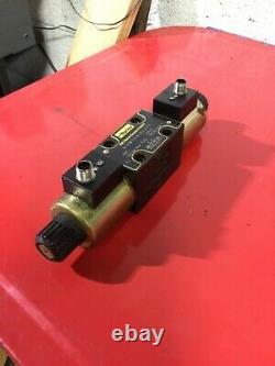 Parker Hydraulic Directional Control Valve, D1VW11CNJDLJ575, 24VDC, Used