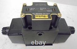 Parker Hydraulic Directional Control Valve, D3w1cnyc5 32, 40 Gpm, 3-pos