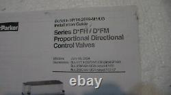 Parker Hydraulic Proportional Directional Control Valve, D3FHE80PCNBJ0010