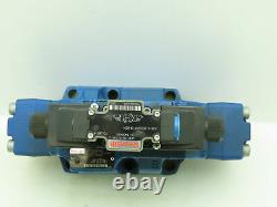 Rexroth H-4WEH / WE6 Hydraulic Directional Control Solenoid Spool Valve 120V