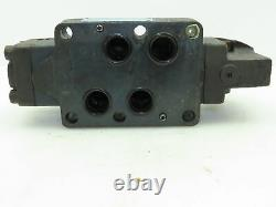 Vickers DG17S-8-8C-10 Hydraulic Directional Valve Manual Lever Spring Return