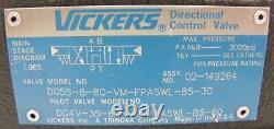 Vickers Directional Hydraulic Valve DG5S-8-8C-VM-FPA5WL-B5-30 + Pilot Valve DG4